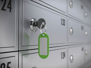 key in safety deposit box